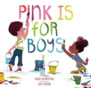 An image of the cover of the book, Pink is for Boys.